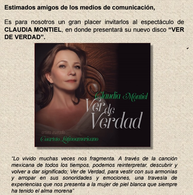 Claudia Montiel
